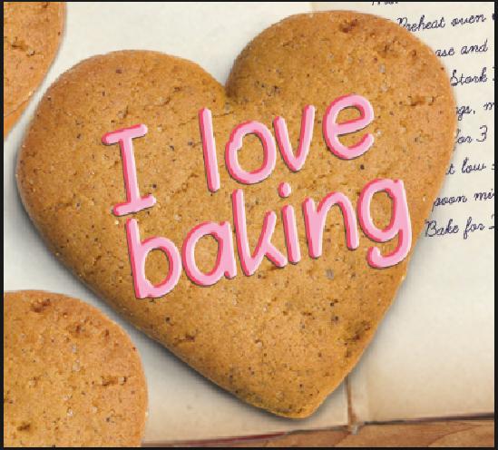 i love baking